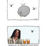 pagina uit 'Cartoonblogboek' van uitgeverij Xtra