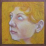 'Wendy', vrij werk, 20/20cm, acryl op doek
