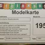 """MOC Modellkarte zur """"Himmlischen Situationskomik"""""""
