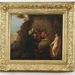 'Versuchung des hl. Antonius' Altmeister-Gemälde des 17./18.Jahrhunderts, Erlös 2.400 €