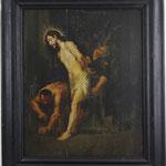 'Geißelung Christi' Qualitätvolles Ölgemälde des 17. Jahrhunderts