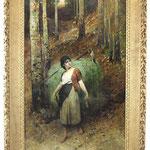 Max Michael, Prunkgemälde 182cm, Auktionslimit 3000 €