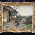 Scherrewitz, Ölgemälde, Einlieferung zur Auktion aus Münster