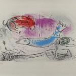 Marc Chagall Lithographie, Auktionseinlieferung aus Münster