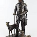 'Friedrich der Grosse' grosse Bronzefigur, Einlieferung aus Münster