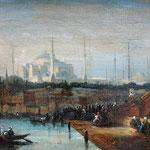 Ansicht von Istanbul mit der 'Grossen Moschee' Gemäldeauktion OWL