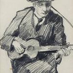 Hermann Stenner, Zeichnung 1912, Auktionslimit 800 €