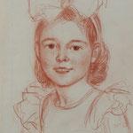 Mary Cassatt, Rötelzeichnung, Auktionslimit 900 €