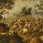 Simon Douw attr. 'Schlachtenszene' 17.Jahrhundert Erlös 9000 €