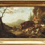 Johann Heinrich Roos 'Italienische Landschaft mit Hirte'