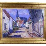 Böckstiegel Pastell 'Ansicht von Werther' Kunstauktion Bielefeld