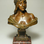 Villanis Bronzebüste. Ankauf, Verkauf & Versteigerung