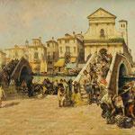 Luigi Pagan, Ölgemälde 'Chioggia' Auktionserlös 7.500 €
