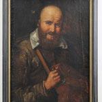 Französischer Maler des 17. Jahrhunderts, Ausdruckstarker 'Drehleierspieler'