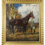 Hermann Junker, Ölgemälde 'Welfenkönig', Auktionslimit 850 €