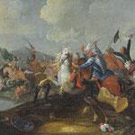 Schlachtengemälde 'Die Türken vor Wien'. Gemäldeauktion OWL