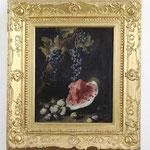 Bartolomeo Bimbi, Barockes Ölgemälde mit Melone, Auktionserlös 11.000 €