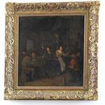 Jan Minse Molenaer, signiert, Ölgemälde 'Hochzeit', Auktionspreis 3000 €