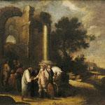 Jan Asselyn attr.'Arkadische Landschaft' 17.Jahrhundert Erlös 2000 €