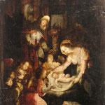 Haarlemer Schule 'Christi Geburt' 17.Jahrhundert Erlös 1600 €