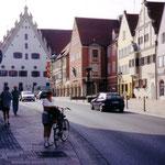 Viele prunkvolle Patrizierhäuser in Donauwörth
