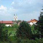 Niederalttaich mit seiner Klosterkirche