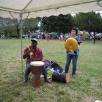アフリカの太鼓&親指ピアノ