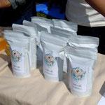 東久留米産100%の小麦粉(お問合せはプチ・フール(TEL:042-474-0139 )まで)
