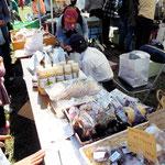 [Higashikurume 麦]ブース 焼き菓子(かくしち・菓子工房pure・プチフール)・福島産のみそ・ドレッシングなど(福島県復興支援)
