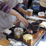 [時匙] お抹茶と柳久保まんじゅうのセット