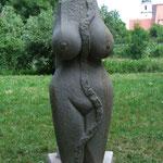 Weiblichkeit der Phantasie 2015 Cottaer Sandstein ca. 120 cm