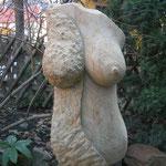 Weiblicher Torso (Hülle) 2016 Cottaer Sandstein
