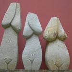 Drei Grazien 2015  Cottaer Sandstein ca. 50 – 60 cm