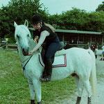 Halsringreiten, Freizeitreiterturnier Hof Larsson 1999