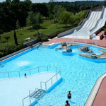 piscine et togogans Aqualudia à Muret, à moins de 30 minutes des Gites des Camparros à Nailloux
