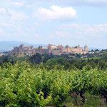 cité de Carcassonne, à moins d'une heure des Gites des Camparros à Nailloux