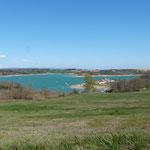 lac de la Ganguise, à moins de 30 minutes des Gites des Camparros à Nailloux
