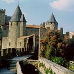 remparts de Carcassonne, à moins d'une heure des Gites des Camparros à Nailloux