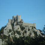 château de Puilaurens-Lapradelle, à un peu plus d'une heure des Gites des Camparros à Nailloux