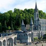 Sanctuaire de Lourdes, à un peu plus d'une heure des Gites des Camparros à Nailloux