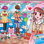 2013年7月笠倉出版社「まちがいさがしミュージアム8月号」カット