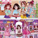 2013年11月成美堂出版「あそぼ!かわいい!まちがいさがしHARD」