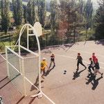 Terrain de handball