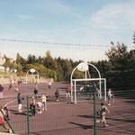 terrain de hand et basket