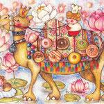 ラクダのドーナツ屋さん