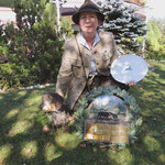 Fr. Ulli Ostermann, eine zu Recht stolze Bundessiegerin!