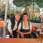 Christine Hecher mit mir