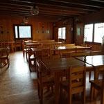 La sala da pranzo