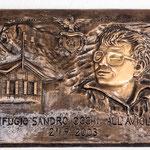 La dedica a Sandro Occhi