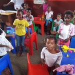 Kindergartengruppe für Mädchen